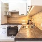 Küchenblock Küche - Appartement Margot in Osttirol